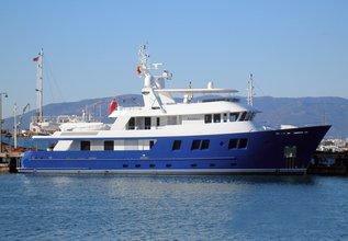 B5 Charter Yacht at Monaco Yacht Show 2019
