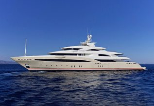 Natalina A Charter Yacht at Mediterranean Yacht Show 2016
