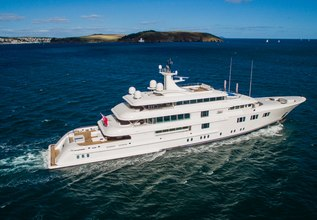 Lady E Charter Yacht at Antigua Charter Yacht Show 2014