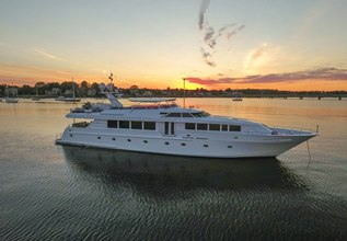 Savannah Charter Yacht at Fort Lauderdale International Boat Show (FLIBS) 2021
