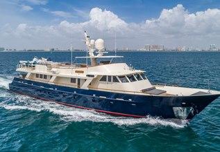 Ariadne Charter Yacht at Palm Beach Boat Show 2016