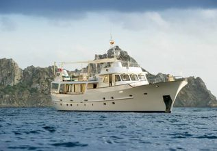 Monara Charter Yacht at Monaco Grand Prix Yacht Charter