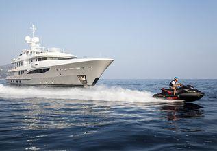 Astra Charter Yacht at Monaco Grand Prix 2017