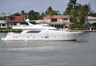 Kena Marie Charter Yacht at Fort Lauderdale Boat Show 2015