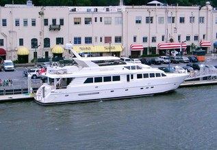 Diamond Lady Charter Yacht at Miami Yacht Show 2020