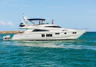 Alegria Charter Yacht at Fort Lauderdale Boat Show 2019 (FLIBS)