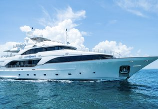 M2 Charter Yacht at Fort Lauderdale Boat Show 2016