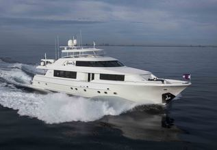 Sharon Lee Charter Yacht at Fort Lauderdale Boat Show 2015