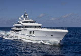 Spectre Charter Yacht at Monaco Yacht Show 2018