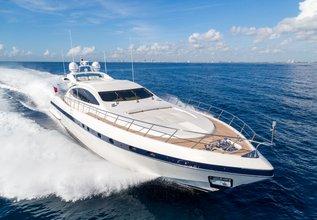 Kampai Charter Yacht at Miami Yacht Show 2020