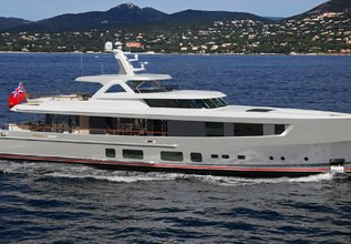 Delta One Charter Yacht at Monaco Yacht Show 2017