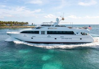 Victory Lane Charter Yacht at Fort Lauderdale International Boat Show (FLIBS) 2021