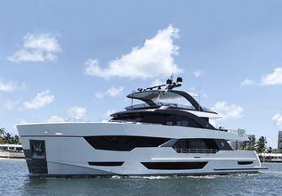 Ocean Alexander 35R/02 Charter Yacht at Fort Lauderdale International Boat Show (FLIBS) 2021