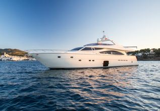 Monticello II Charter Yacht at Antibes Yacht Show 2014