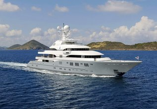 Rocinante Charter Yacht at Fort Lauderdale Boat Show 2016