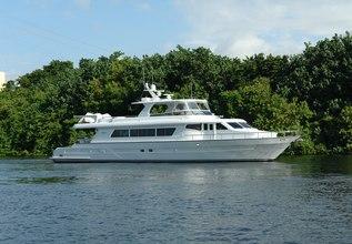 Phantom Charter Yacht at Palm Beach Boat Show 2016