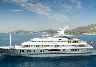 Boadicea Charter Yacht at Monaco Grand Prix 2014