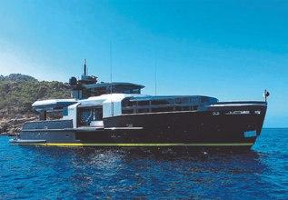 RJX Charter Yacht at Monaco Yacht Show 2018