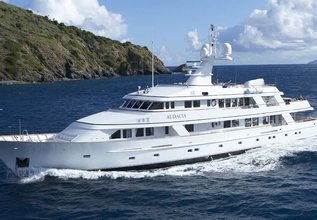 Genesia Charter Yacht at Palm Beach Boat Show 2014