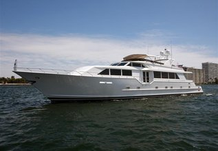 Double Down Charter Yacht at Fort Lauderdale Boat Show 2015
