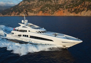 Man Of Steel Charter Yacht at The Superyacht Show 2019