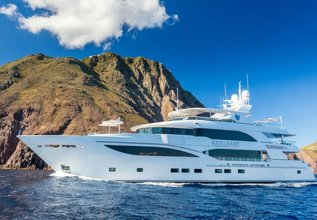 King Baby Charter Yacht at Fort Lauderdale Boat Show 2015
