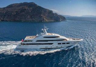 Saramour Charter Yacht at Monaco Yacht Show 2015