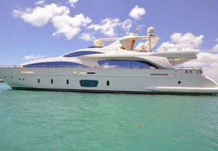 Bienaventuranza VII Charter Yacht at Fort Lauderdale Boat Show 2015