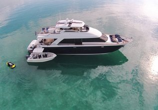 Calliope Charter Yacht at Fort Lauderdale Boat Show 2015