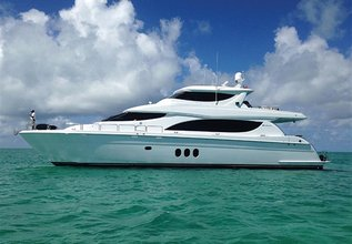 Wreckless Charter Yacht at Palm Beach Boat Show 2015