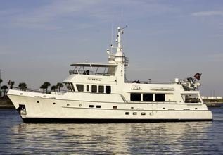 Gusto Charter Yacht at Palm Beach Boat Show 2019