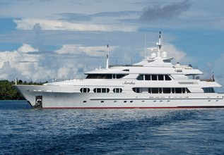 Sorcha Charter Yacht at Fort Lauderdale Boat Show 2019 (FLIBS)