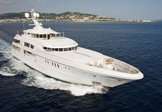 Caipirinha Charter Yacht at Monaco Yacht Show 2015