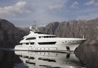 Elena Charter Yacht at Monaco Yacht Show 2014