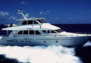 Kismet Charter Yacht at Palm Beach Boat Show 2014