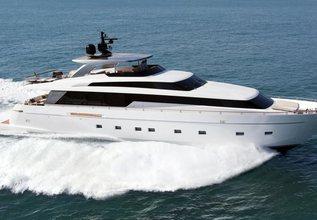 SanLorenzo SL104 / 610 Charter Yacht at Singapore Yacht Show 2016