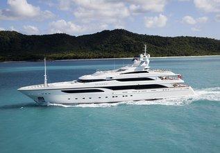 Seanna Charter Yacht at Antigua Charter Show 2015