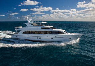 Seas the Day Charter Yacht at Fort Lauderdale Boat Show 2015