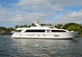 Avanti Charter Yacht at Palm Beach Boat Show 2014