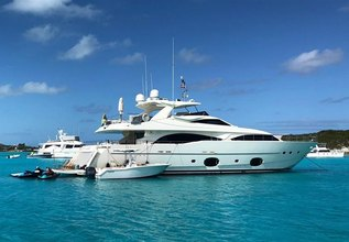The Capital Charter Yacht at Miami Yacht Show 2020