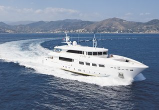 Ulysses Charter Yacht at Cannes Yachting Festival 2014