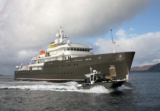 Yersin Charter Yacht at Monaco Yacht Show 2015