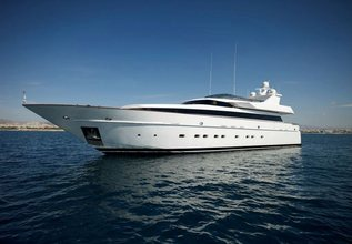 Feligo V Charter Yacht at Mediterranean Yacht Show 2015