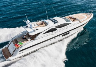 Miss Bubbles Charter Yacht at Miami Yacht Show 2018