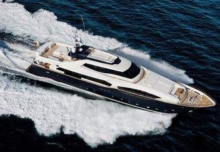 Lady Dia Charter Yacht at MYBA Charter Show 2014