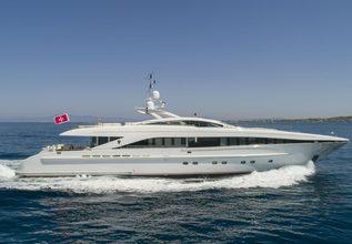 L'Equinox Charter Yacht at Mediterranean Yacht Show 2018