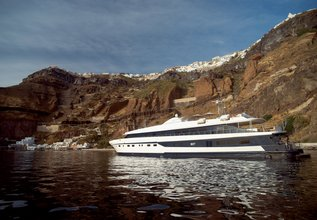 Harmony G Charter Yacht at East Med Yacht Show 2015