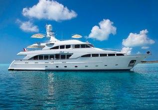 Felicita Charter Yacht at Newport Charter Yacht Show 2014