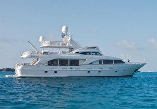 Keiki Kai Charter Yacht at Antigua Charter Yacht Show 2014