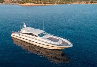 Romachris II Charter Yacht at Mediterranean Yacht Show 2017